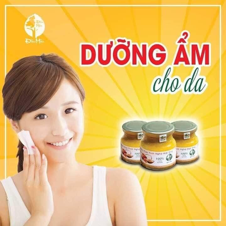 Kem Gạo Tinh Nghệ Mật Ong có tác dụng dưỡng da rất tốt