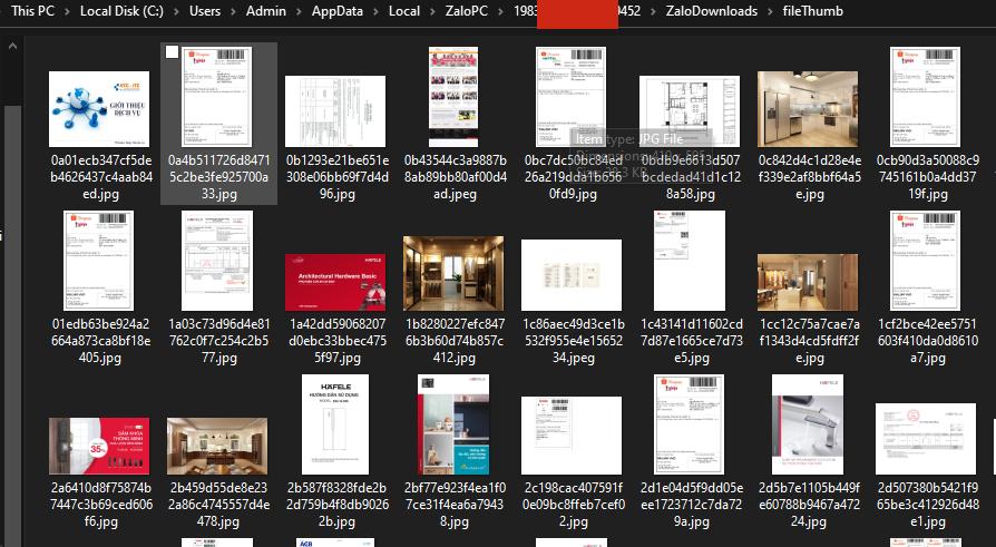 Xóa Hình ảnh, File, Video trên máy tính.