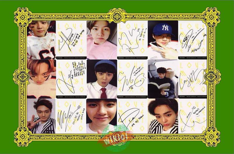 Chữ ký của exo