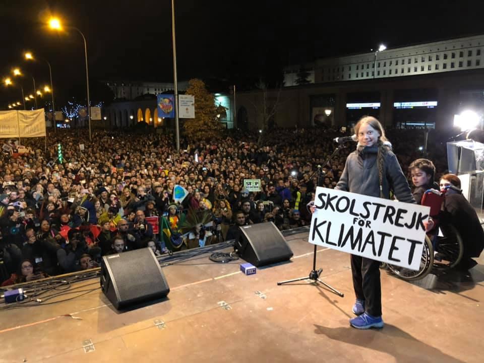Greta Thunberg có ảnh hưởng trên toàn thế giới