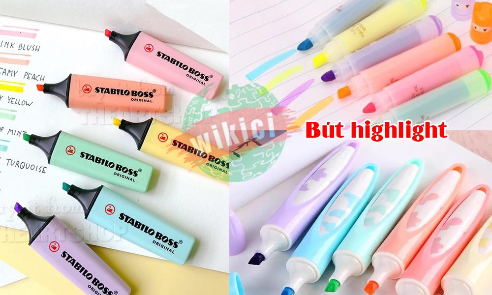 Bút highlight