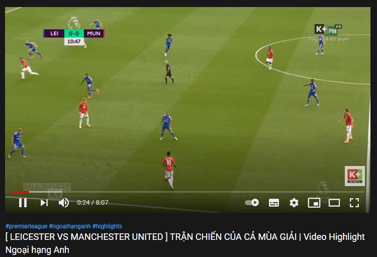 Video bóng đáHighlight