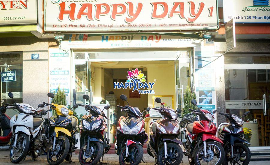 Thuê xe máy Happy Day